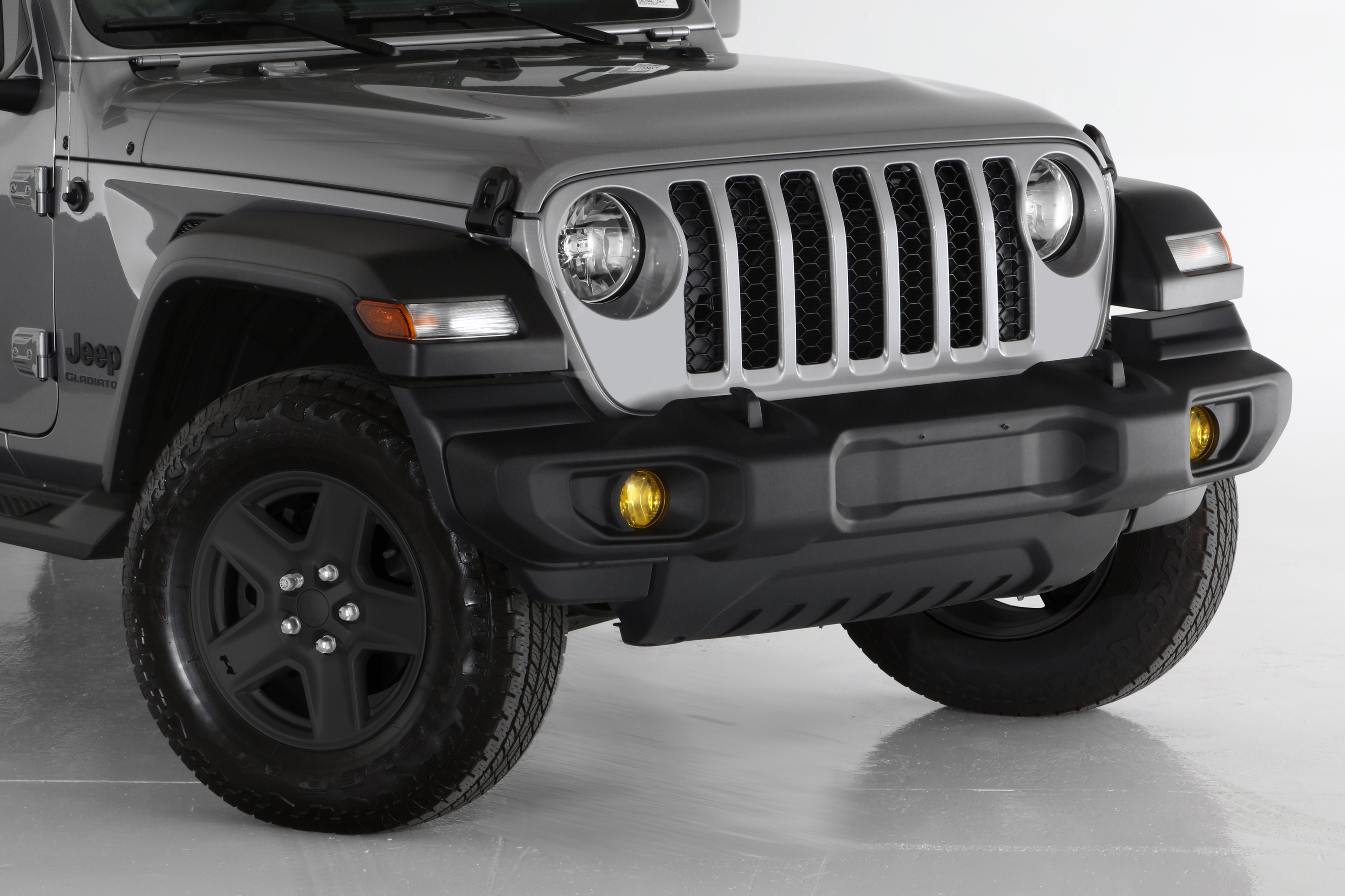 For Jeep Gladiator 2020 GTS GT4745S Blackouts Smoke Tail Light Covers