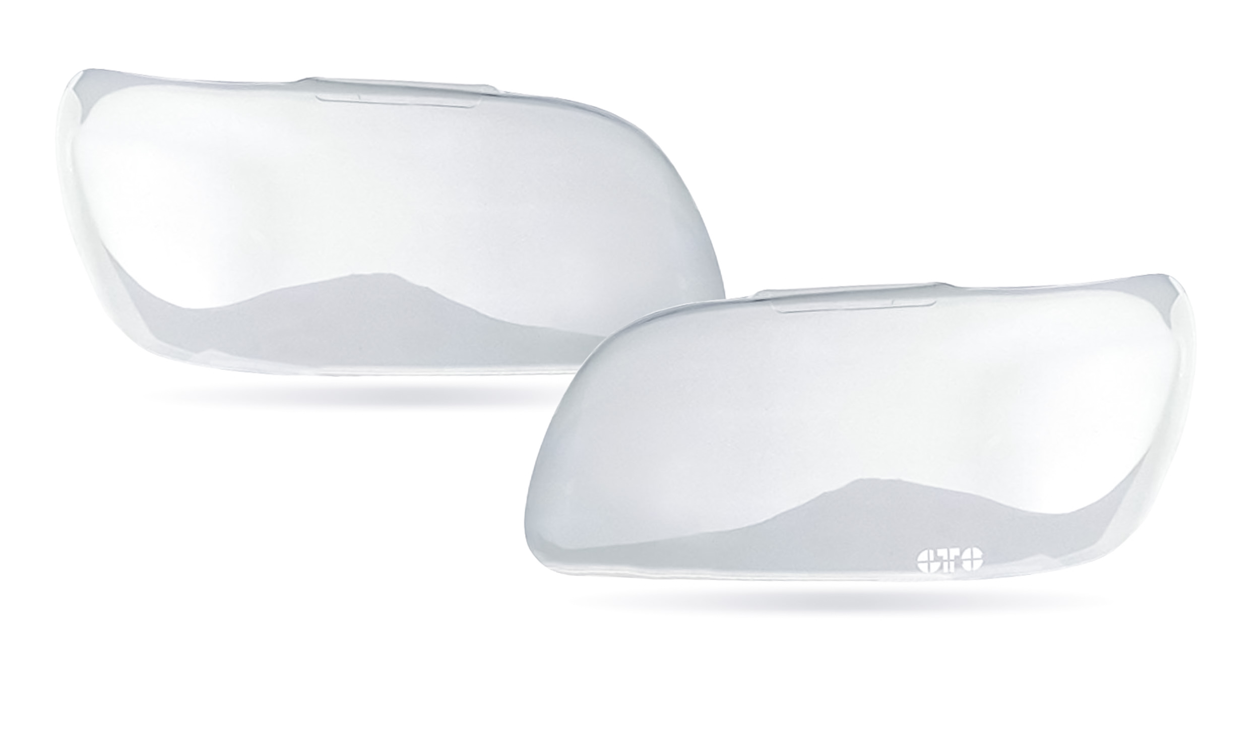 GT Styling GT0189C Headlight Covers Clear 2 pc Headlight Covers