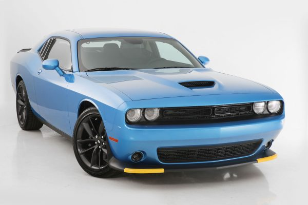 2015-2019 Dodge Challenger, All, Headlight Cover, 4 Pc., Clear, Except Hellcat and Vehicles Equipped with Headlight Air Intake, Mounts By Friction Fit
