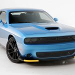 2015-2019 Dodge Challenger, All, Headlight Cover, 4 Pc., Smoke, Except Hellcat and Vehicles Equipped with Headlight Air Intake, Mounts By Friction Fit
