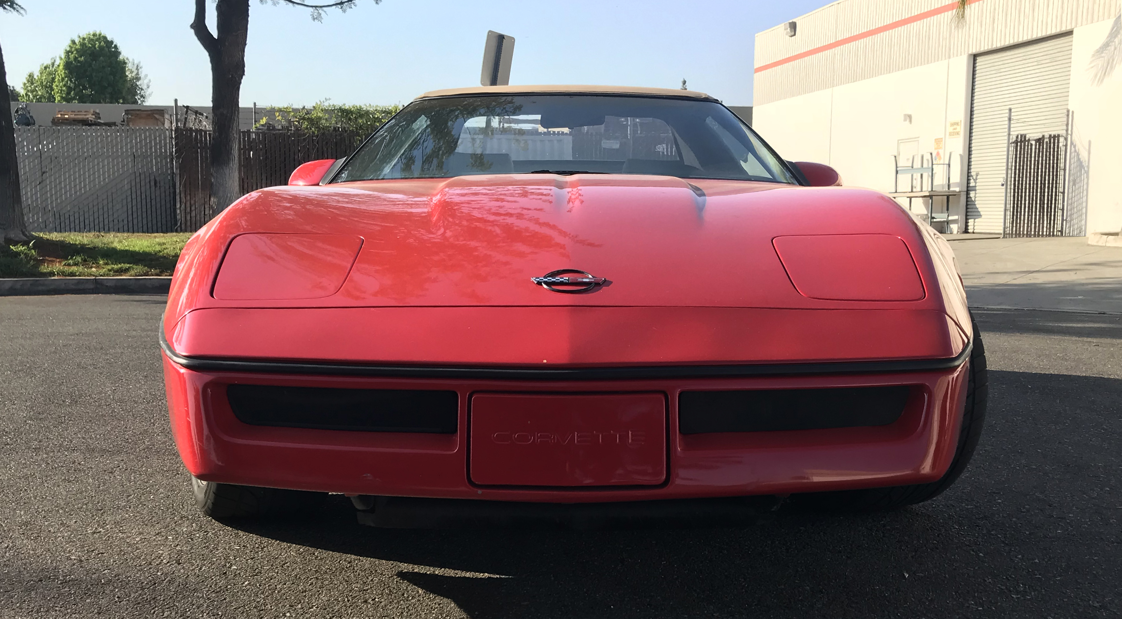 1991-1996 CHEVROLET CORVETTE ALL MODELS,TURN SIGNAL COVER, 2 PC. WITH RUBBER WRAP AROUND, SMOKE