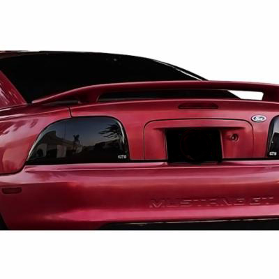 1994-1998 FORD MUSTANG ALL MODELS,TAILLIGHT COVER, 2 PC., SMOKE