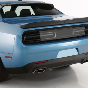 2015-2020 Dodge Challenger, All, Taillight Cover, 2 Pc., Smoke, Mounts With 3M Dual Lock