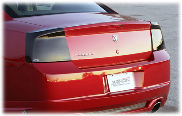 2009-2010 DODGE CHARGER ALL MODELS,TAILLIGHT COVER, 2 PC., SMOKE