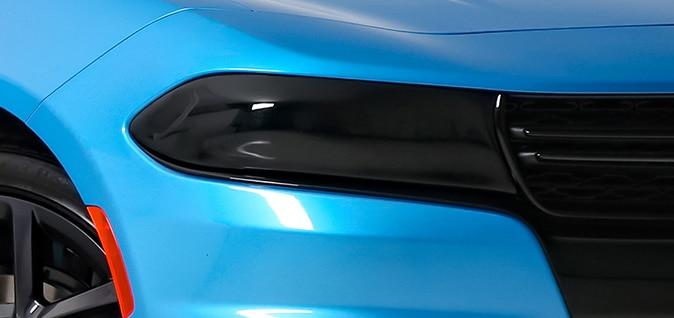 GT Styling GT0150S Smoke Headlight Cover