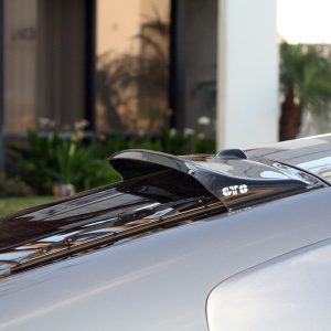 2003-2008 NISSAN 350Z ALL MODELS,SOLORWING II, REAR WINDOW SPOILER, SMOKE