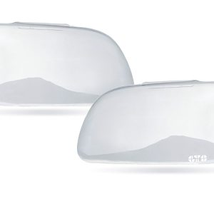 Ford Mustang, Headlight Cover, 2 Piece, Clear