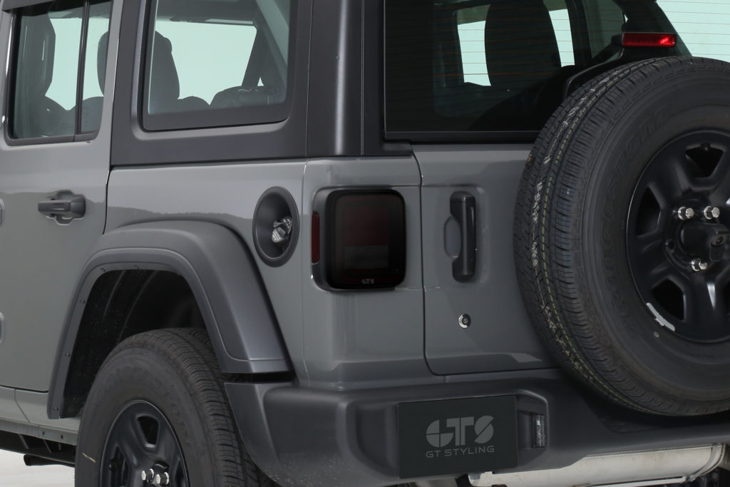 Rvinyl Rtint Headlight Tint Covers for Jeep Gladiator 2020-2020 Matte Smoke