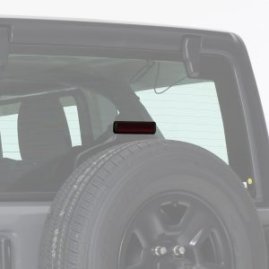 Jeep  Wrangler JL/JLU, Third Brake Light Cover, 1pc, Carbon Fiber Look